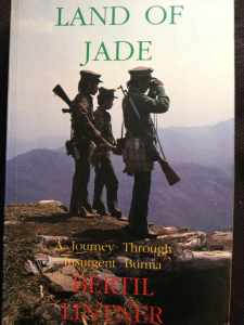 Myanmar-Burma-Reise-Land of Jade. Book about Burma Myanmar